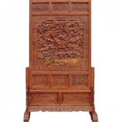 现代木雕屏风批发厂家,广东现代木雕屏风,艺