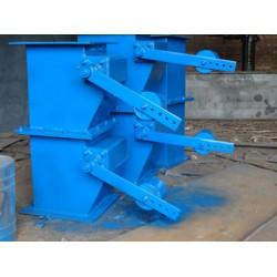 双层重锤翻板卸灰阀-厂家直销-除尘配件