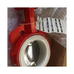 美国博雷S20对夹式蝶阀,进口衬胶对夹式蝶阀