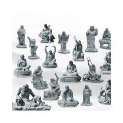 石雕十八罗汉五百罗汉