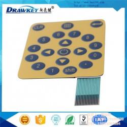 薄膜面板_亮键电子_粘硅胶薄膜面板
