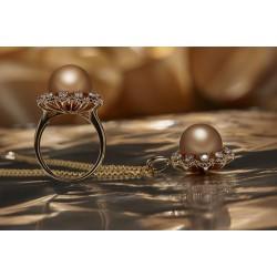 黑珍珠吊坠,珍珠吊坠,吉诺珠宝(查看)