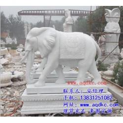 门口摆放石雕大象的讲究,上海石雕大象,爱强