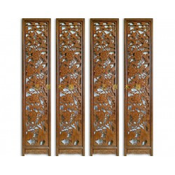 现代木雕屏风厂家,辽宁现代木雕屏风,艺修木
