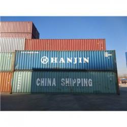 天津二手集装箱20尺40尺 6米12米 箱型齐全