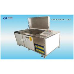 深圳威固特多槽全自动超声波蚕用直板方格簇超声波清洗机