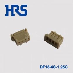 苏州乔讯广濑DF13-4S-1.25C母型插口厂家直供