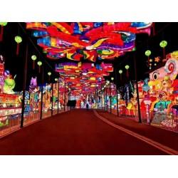 灯光节出售春节元宵何处去?徐州观赏灯光节
