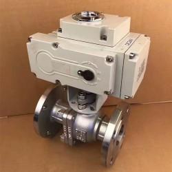 Q941F-16厂家电球阀 不锈钢法兰电动球阀