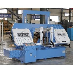 管材切割GB4250双柱金属带锯床鲁班锯业造 质保三年