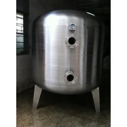 华蓥鸿谦 臭氧反应罐 不锈钢臭氧吸附罐 厂家直供