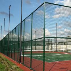 宝鸡学校操场运动围栏 多功能球场围网 加工定制