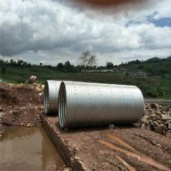 镀锌钢波纹涵管桥梁涵洞波纹涵管厂家