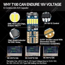 LED汽车小灯T10-15SMD仪表灯示宽灯阅读灯