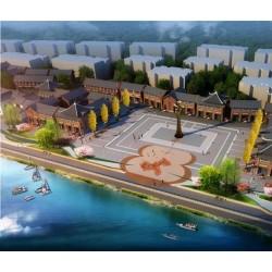 新艺标环艺 重庆景区亮点设计 重庆古镇升级改造 重庆景区雕塑