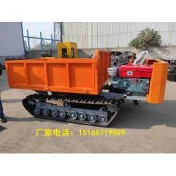散装饲料运输车 农用运输车橡胶履带运输车金尊